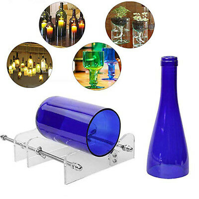 Glass Bottle Cutter Wine Bottles Jar DIY Craft Cutting Machine Recycle Tool Set