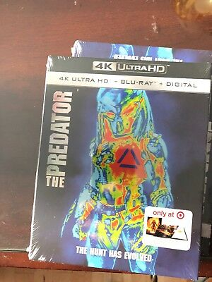 The Predator(4K/Blu-ray) No digital Target Exclusive - 36 pages book