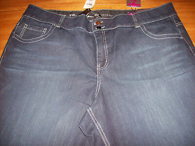 New with Tags Lane Bryant Skinny Tummy Control Jeans Womens Size 24 Org. $69