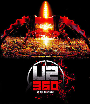 U2 360° * The CLAW * ROSE BOWL Orig Music Poster HUGE 3'x4' Rare 2010 Mint