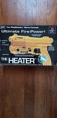 Sony Playstation 1 PS1 Nuby The Heater Light Gun Ultimate Fire Power Controller