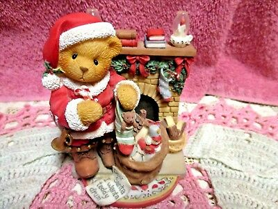 Cherished Teddies Christmas Sanford Celebrate Family Priscilla Hillman 1999