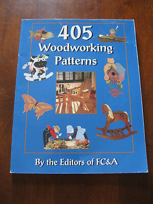 405 Woodworking Patterns: Editors of FC&A: 1996 :  Preloved