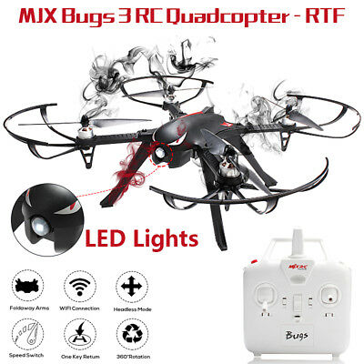 MJX B3 Bugs 3 RC Quadcopter RTF Two-way 2.4GHz 4CH 1800kv Brushless Motor Drone