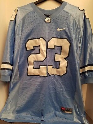 e4522c70596 NORTH CAROLINA UNC TAR HEELS JERSEY #23 MJ Michael Jordan Jumpman SEWN NIKE  2XL