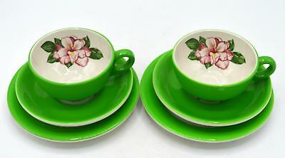 Shenango Restaurant China- Greenbriar Hotel - Luncheon Set - Rhododendron Patten