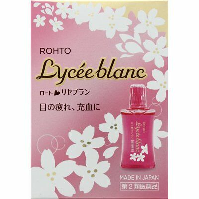 Rohto Lycee Blanc Medicated Eye Drops 12mL From Japan