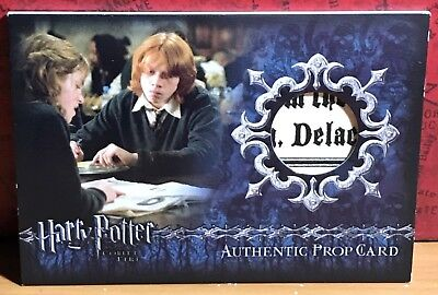 Harry Potter Goblet of Fire Prop card Ci3 #86 The Daily Prophet variant