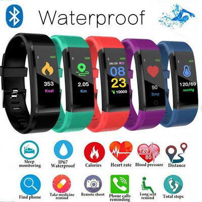 Reloj inteligente Smartband fitness Tracker para niños Android IOS heart rate ES