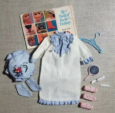 "Vintage Barbie Francie Doll ""All Tuckered out"" outfit #1253 (1966-1967) Complete"