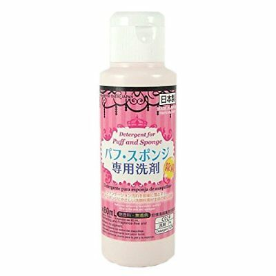 F/S Daiso Detergent Cleaning for Markup Puff and Sponge 80ml Japan Import