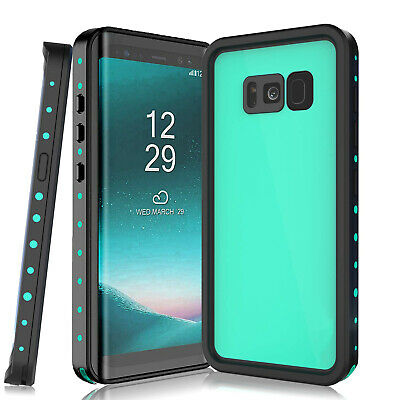 For Samsung Galaxy S8 Plus/S8 Waterproof Case Supported Wireless Charging Cover