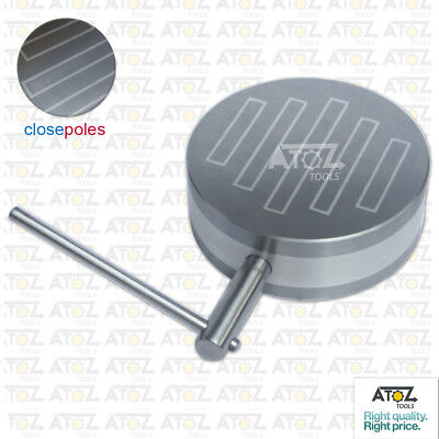 """6.1/2"""" Heavy Round Permanent Magnetic Chuck 165mm Strong Hold Powered Poles ATOZ"""