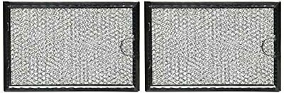 Replacement Microwave Range Hood Grease Filter Frigidaire 5304464105, 2packs
