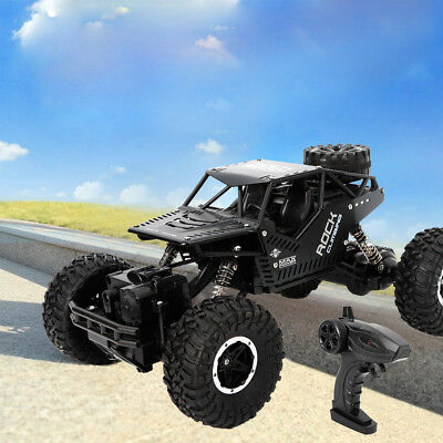 2.4G 1:18 Remote Control 2CH 4WD Off-Road Racing Car Truck High Speed RC Car USA
