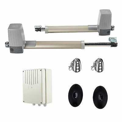 Automatic Arm Smooth Swing Dual Gate Opener, Gates Up to 662 lb. DC Motor