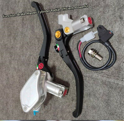 CNC 13rcs Position Motorcycle Brake Clutch Master Cylinder Hydraulic Pump Lever