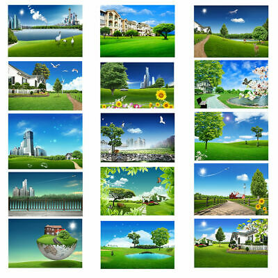 3x5ft 5x7ft Natural Scenic Photography Backdrops Poster Baby Studio Photo Props