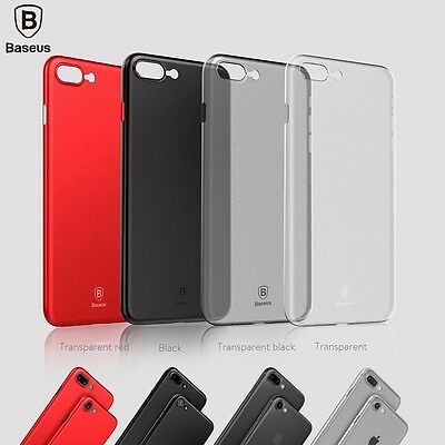 Baseus Ultra Thin Slim Matte Hard Case Back Cover fr iPhone 8 7 Plus X XS MAX XR