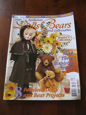 Australian Dolls Bears & Collectables: Vol.7 No. 8: :Preloved