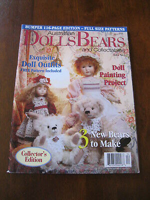 Australian Dolls Bears & Collectables: Vol.6 No. 5 : 1999: :Preloved