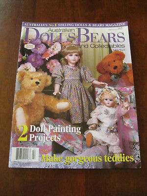 Australian Dolls Bears & Collectables: Vol.6 No. 2 : 1999: :Preloved