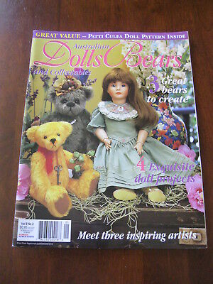 Australian Dolls Bears & Collectables: Vol.9 No. 2: :Preloved