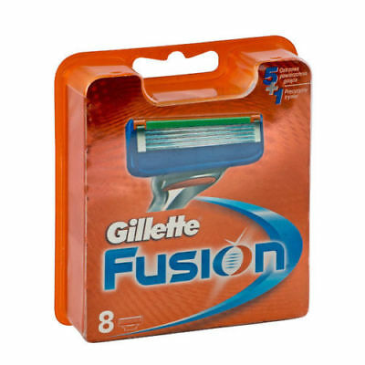 Gillette Fusion5 Razor Blades 8 Pack - 100% Genuine NO FAKES - FAST FREE POSTAGE