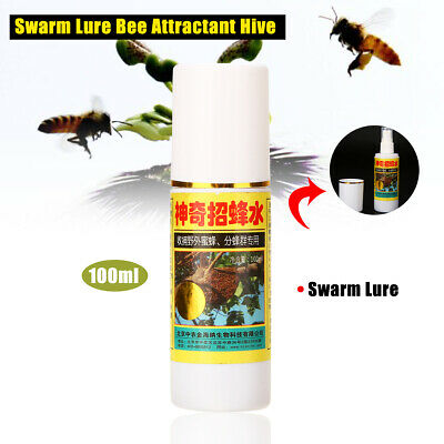 100ml Bee Swarm Lure Commander Premium Bee Beekeeping Attractant Hive Catch Trap