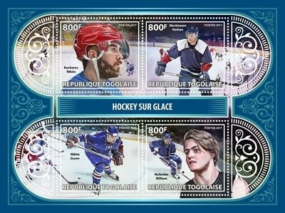 Z08 TG17407a Togo 2017 Ice Hockey MNH Mint