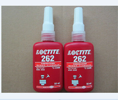 1pcs New LOCTITE 262 High Strength Thread Locker 50ml