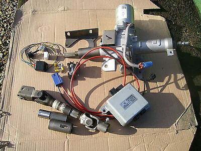 VW T25 electric power steering column conversion kit T3 with laser cut bracket