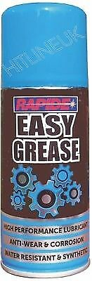 RAPID High Performance Easy Grease Aerosol Spray Lubricant Water Resistant 200ml