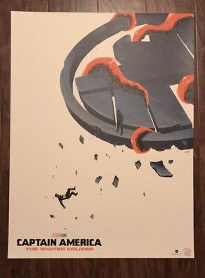 Captain America The Winter Soldier Movie Poster Art Print Doaly Marvel Comics