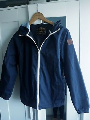 **Boys Element Age 14Yrs Hooded Navy Blue Jacket**Bmx/Skate**Rrp £60**