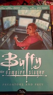 8 Buffy the vampire slayer comics in great condition.