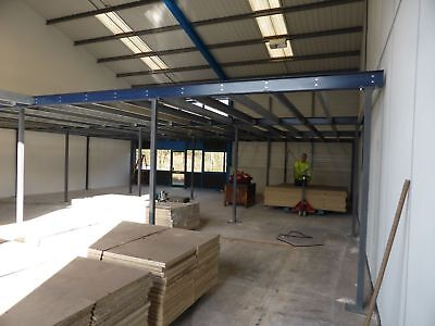 Used Mezzanine Floors Made To Your Specification From £40 Per Sq Metre