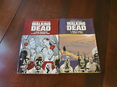 WALKING DEAD - Lot de 2 Album - double Tomes 1 à 4