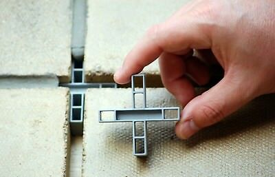 GAPFAST PAVING SPACERS for Patio Slabs & Flags - 10mm CROSSES x 50