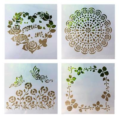 Layering Stencils Template For Walls Painting DIY Scrapbooking Stamping Decor