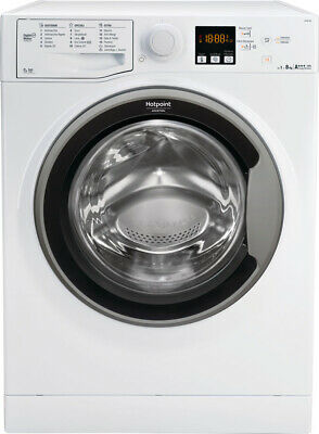 Lavatrice 8 Kg Hotpoint Ariston A+++ 61 cm Carica frontale 1200g SX RSF 824S IT