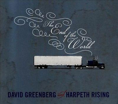 The  End of the World [Digipak] by David Greenberg and Harpheth Rising (CD,...
