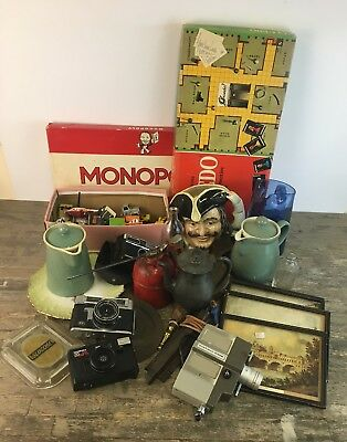 Antiques & Collectables Mixed Dealers Lot To Include Cameras, Ceramics & Toys.