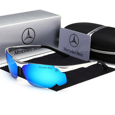 Mercedes Men's Sunglasses Sports Driving Classic Outdoor Luxury Glasses UK