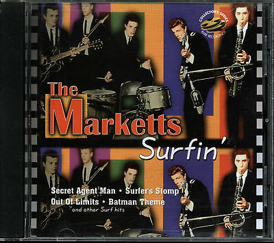 The Marketts - Surfin' (CD, 1997, KRB Music)