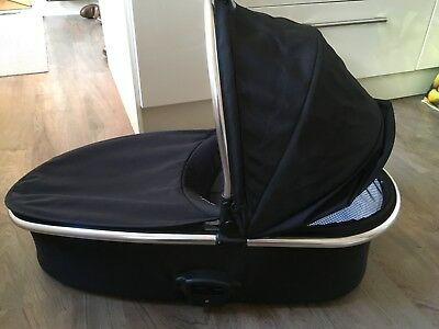 Oyster 2 carrycot Black