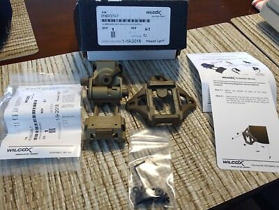 WILCOX L4 G24 Low Profile Breakaway NVG Mount - DEVGRU SEAL Helmet Night Vision