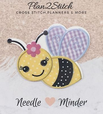 Bumble Bee Needle Minder For Cross Stitch// Embroidery
