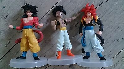 Dragonball Z Figur Figuren Aktion Manga Anime Son Goku Set 3 Stück Neu