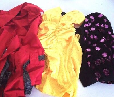 Youth Dance 3 Outfit Lot Size Child Large Jazz Hip Hop Costumes Dress Up